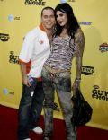 Steve-O and Kat Von d
