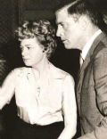 Shelley Winters and Burt Lancaster
