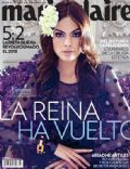 Ximena Abarca on the cover of Marie Claire (Mexico) - July 2013