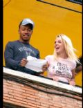 Britney Spears and Columbus Short
