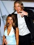 Vida Guerra and Jeremy Shockey