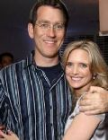 Courtney Thorne-Smith and Robert Fishman