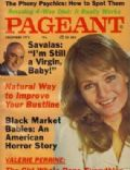 Valerie Perrine on the cover of Pageant (United States) - December 1975