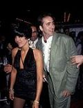 Maria Conchita Alonso and Nicolas Cage
