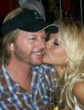 David Spade and Pamela Anderson