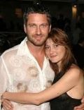 Gerard Butler and Chiara Conti