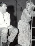 Robert Mitchum and Shelley Winters