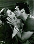 Debra Paget and Victor Mature