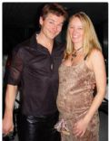 Morten Harket and Anne mette Undlien