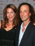 Kenny G. and Lyndie Benson