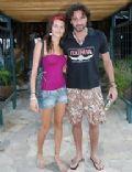 Rico Mansur and Isabeli Fontana