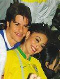 Juliana Paes and Carlos eduardo Batista