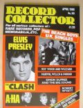 Elvis Presley on the cover of Record Collector (United Kingdom) - April 1986