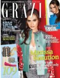 Joko Anwar, Victoria Beckham on the cover of Grazia (Indonesia) - April 2012