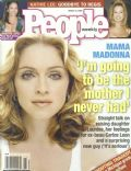Madonna on the cover of People Weekly (United States) - March 2000