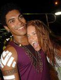 Adriana Lima and Denny