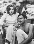 Nils Asther and Greta Garbo