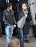 Melissa Theuriau and Jamel Debbouze