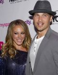 Nick Zano and Haylie Duff