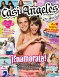 Juan Pedro Lanzani, Mariana Espósito on the cover of Casi Angeles (Argentina) - February 2010