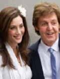 Nancy Shevell and Paul McCartney