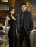 Tom Welling and Erica Durance