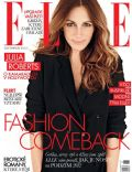 Julia Roberts on the cover of Elle (Czech Republic) - November 2012