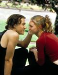 Julia Stiles and Heath Ledger