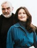 Catherine Zeta-Jones and Sean Connery