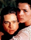 Brad Pitt and Julia Ormond