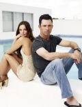 Jeffrey Donovan and Gabrielle Anwar