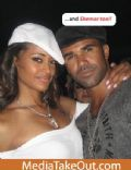 Claudia Jordan and Shemar Moore
