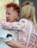 John Lydon and Nora Forster