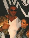 Dave Batista and Melina Perez