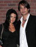 Sandra Nilsson and Marcus Schenkenberg
