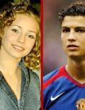 Cristiano Ronaldo and Luciana Abreu