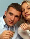 Andriy Shevchenko and Kristen Pazik