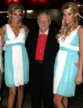Hugh Hefner and Karissa Shannon