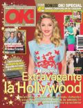 Madonna on the cover of Ok (Romania) - December 2011