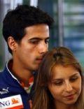 Lucas Di Grassi and Bianca Caloi