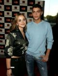 Steven Johnson and Charlotte Church