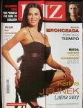 Karina Jelinek on the cover of Luz (Argentina) - March 2007