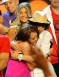 Miley Cyrus and Adam Sevani
