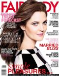Drew Barrymore on the cover of Fairlady (South Africa) - October 2013