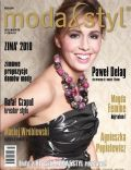 Agnieszka Popielewicz on the cover of Moda Styl (Poland) - March 2011