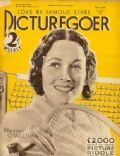 Maureen O'Sullivan on the cover of Picturegoer (United Kingdom) - July 1932