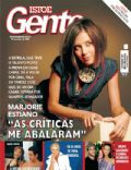 Bruno Gagliasso, Marjorie Estiano, Xuxa Meneghel on the cover of Isto E Gente (Brazil) - March 2008
