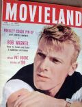 Tab Hunter on the cover of Movieland (United States) - June 1957