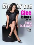 Jenna Ushkowitz on the cover of Steppin Out (United States) - March 2010