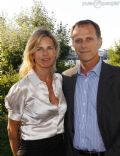 Virginie Couperie and Charles Berling